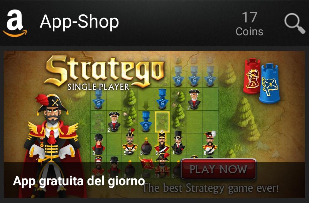 Stratego è l'App gratuita del giorno su Amazon App-Shop