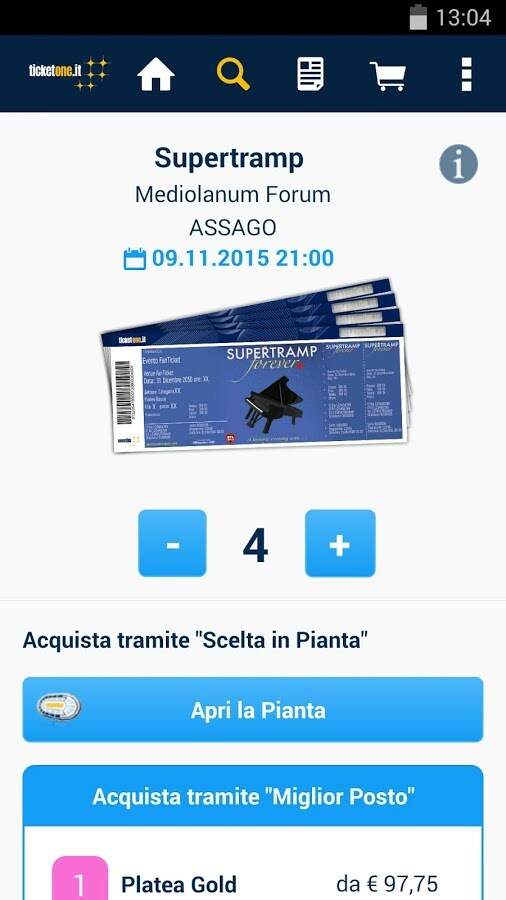 TicketOne 2