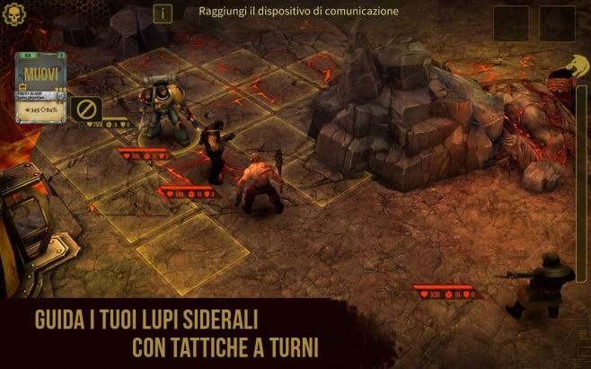 Warhammer 40000 Space Wolf - 3