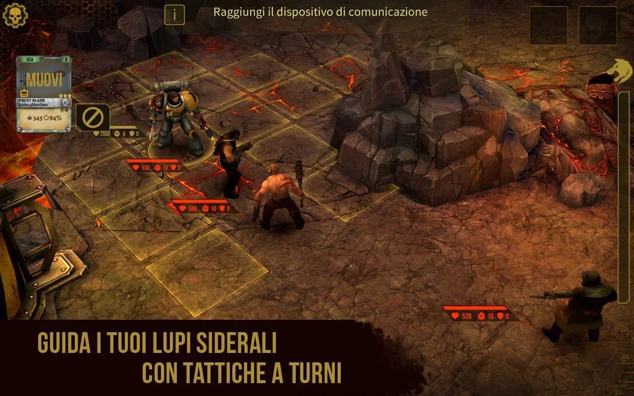 Warhammer 40000 Space Wolf – 3
