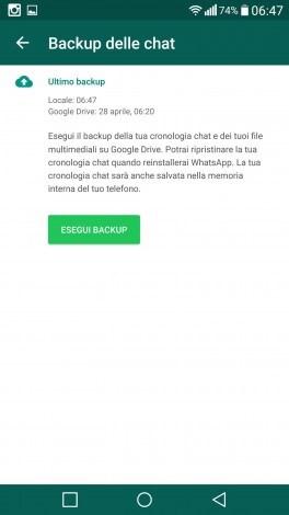 WhatsApp backup Google drive hidden - 4