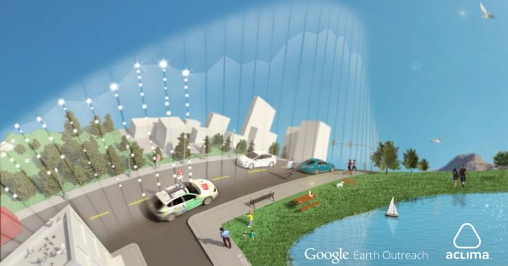 Google vuole monitorare la qualità dell'aria tramite le auto di Street View