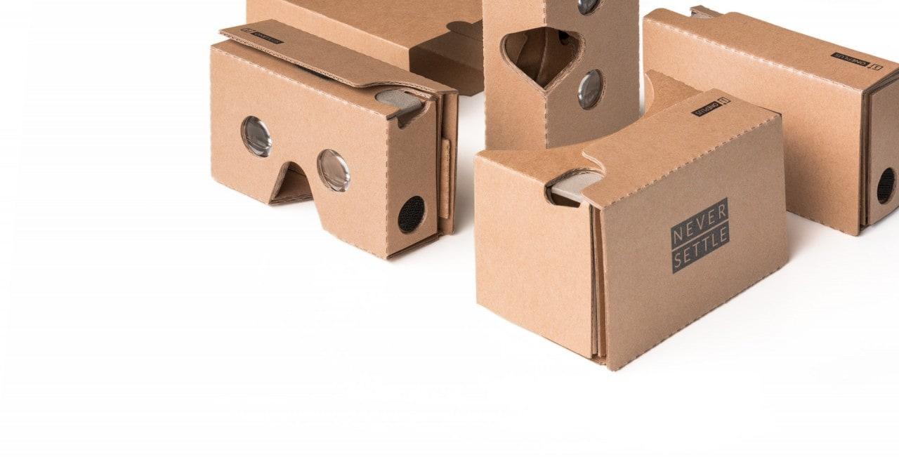 Comprate un Cardboard a 7€, grazie a OnePlus!