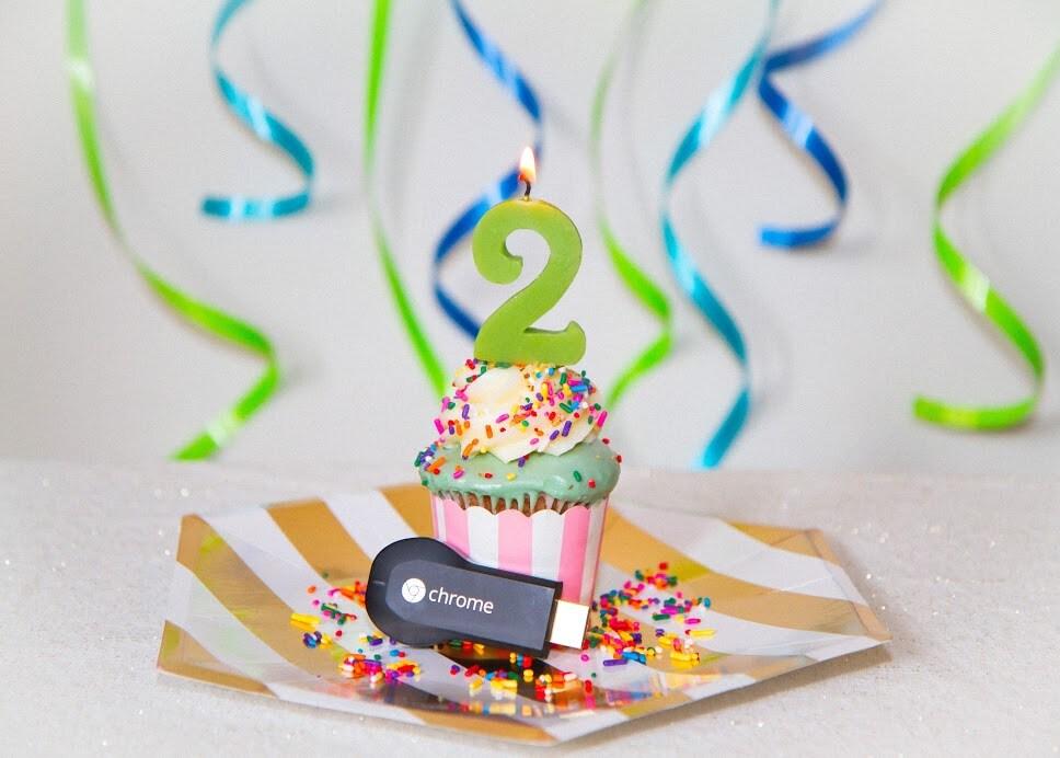 chromecast compleanno
