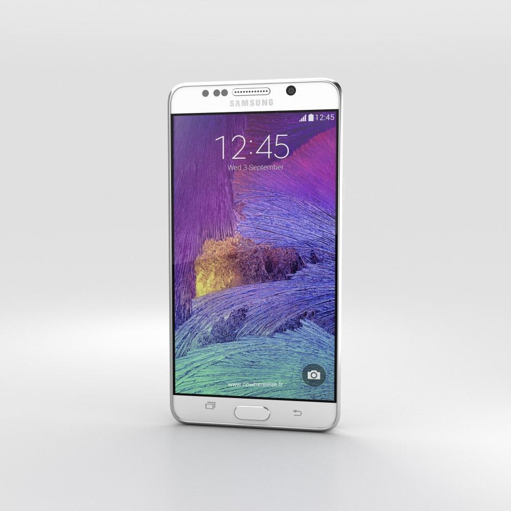 Samsung Galaxy Note 5 svelato dai primi render (foto)