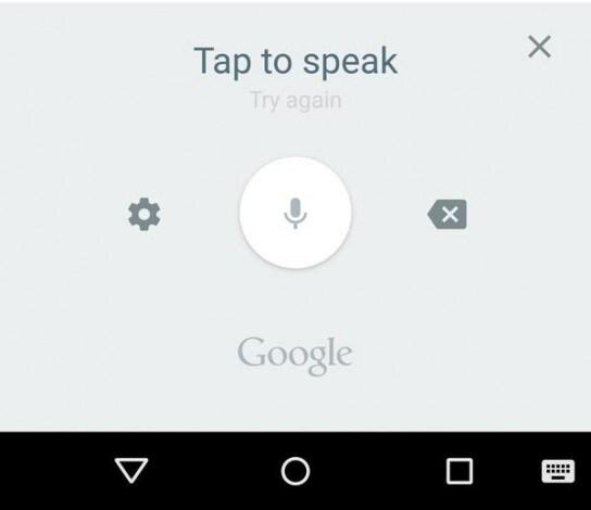 google digitazione vocale