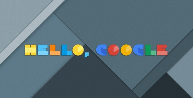 hello google