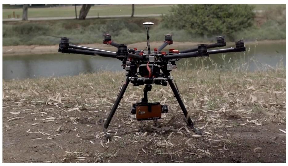 Anche LG G4 è ottimo come cam per un drone (video)