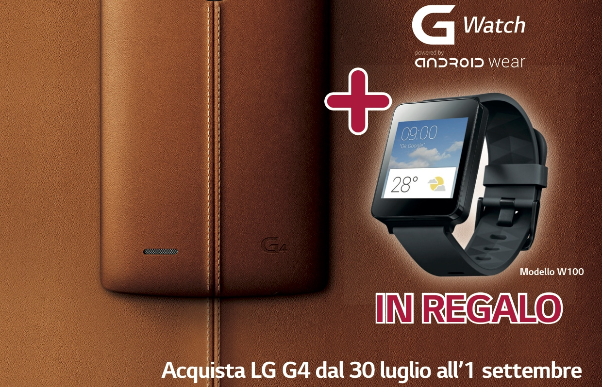 lg g4 regala w watch