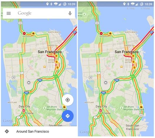 maps 9.1 distrazioni