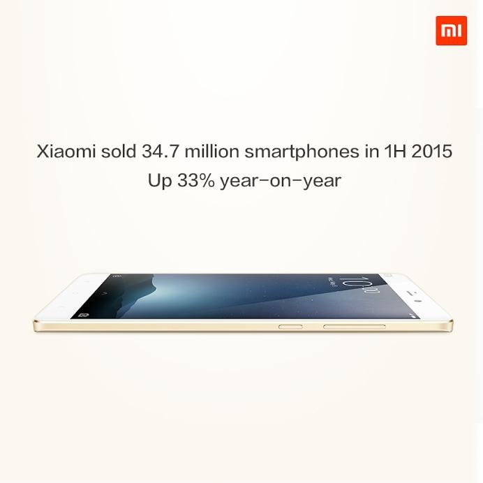Xiaomi si vanta dei suoi numeri in questo 2015