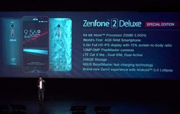 ASUS Zenfone 2 Deluxe Special Edition - 1