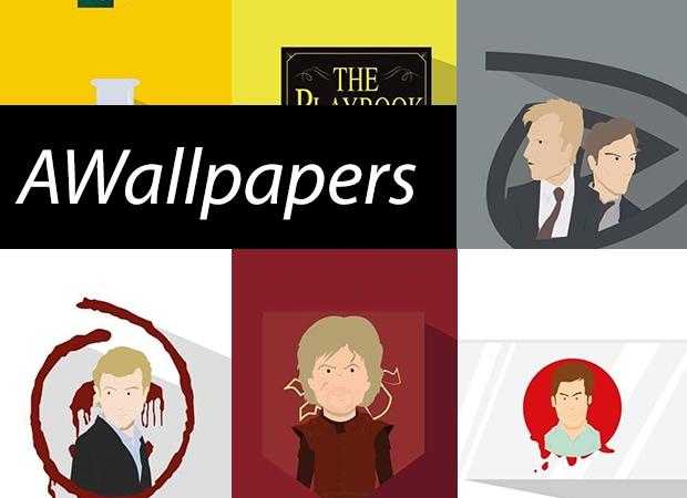 AWallpapers: 8 sfondi stilizzati dei personaggi dei telefilm