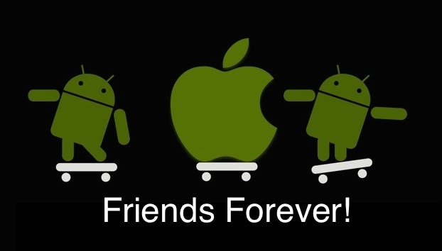 Apple-android friends