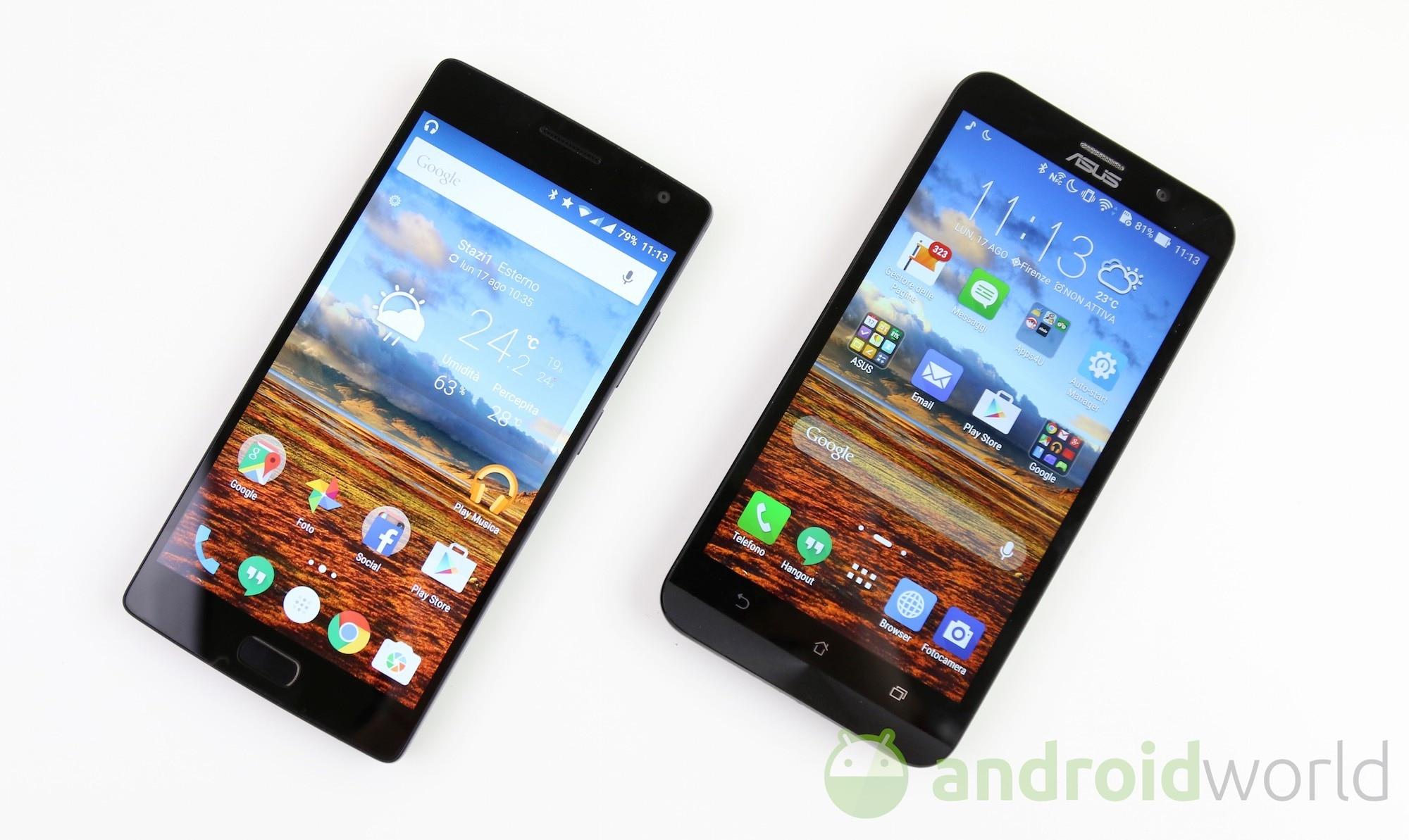 Confronto OnePlus 2 – Zenfone 2  – 3