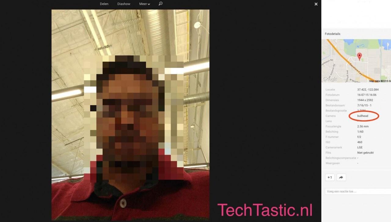 Un selfie che vale più di 1.000 parole: fotocamera da 5 MP per Nexus 5 (2015)? (foto)