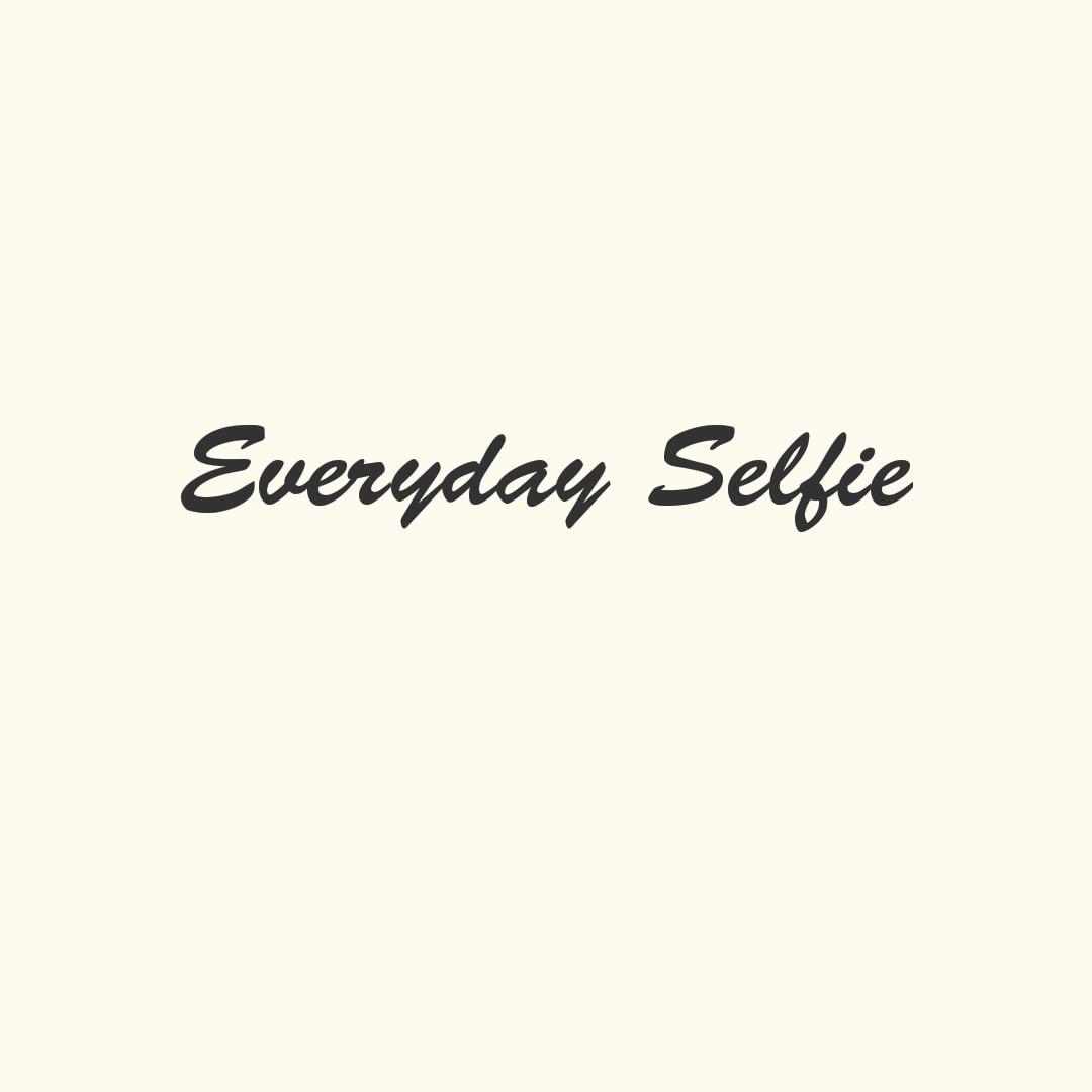 Tracciate la vostra vita con un selfie al giorno! Everyday Selfie (foto)