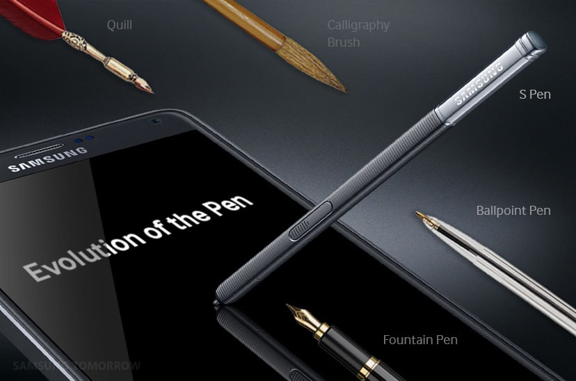 Samsung esalta la storia della S Pen in attesa Galaxy Note 5