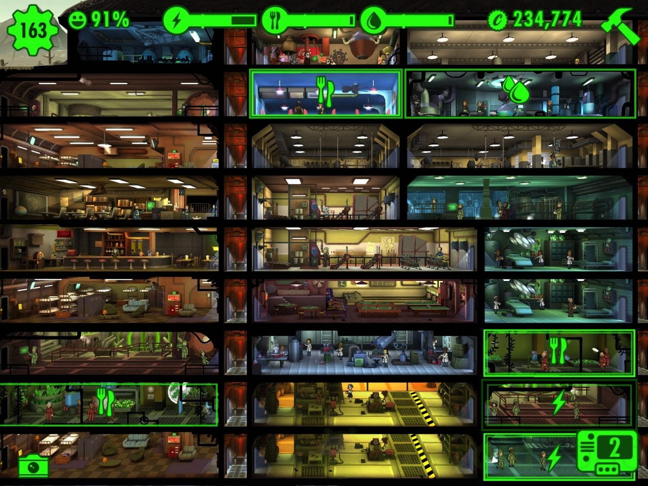 Fallout Shelter Recensione - 4