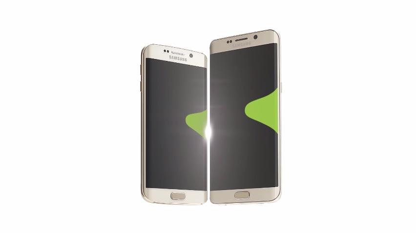 Breve spot TV per Galaxy S6 edge+, a fianco del fratellino (video)