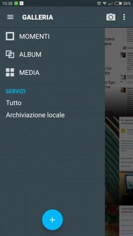 Galleria Cyanogen OS 12.1 - 1