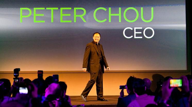 Il CEO di HTC Peter Chou si trova un secondo lavoro (per perfezionare Vive)