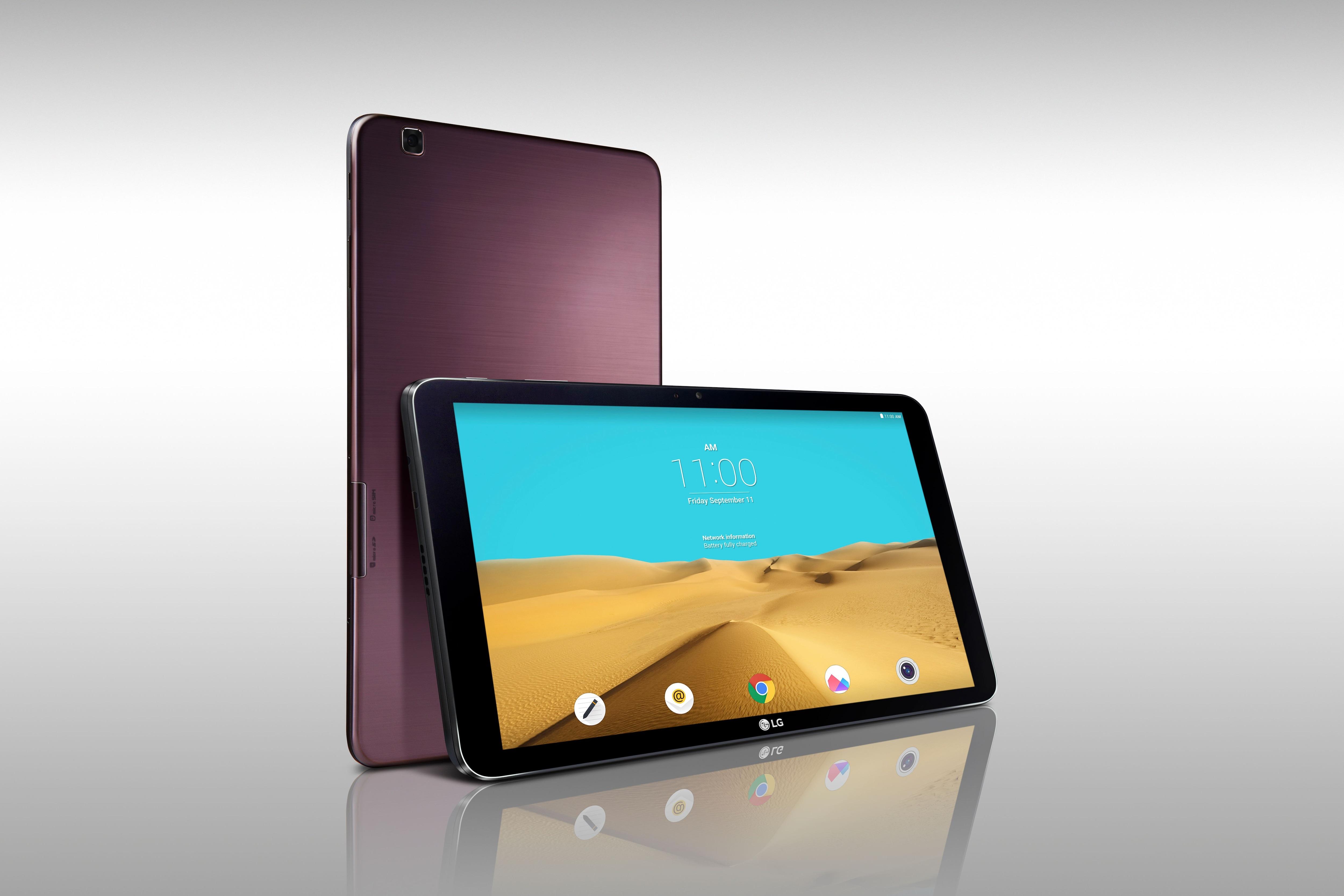 LG G Pad II 10.1 render ufficiale – 1