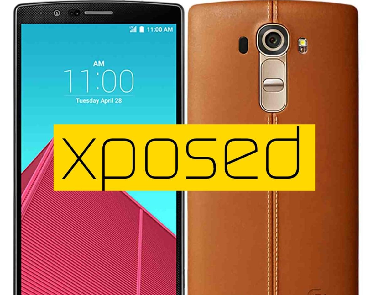 LG G4 Xposed