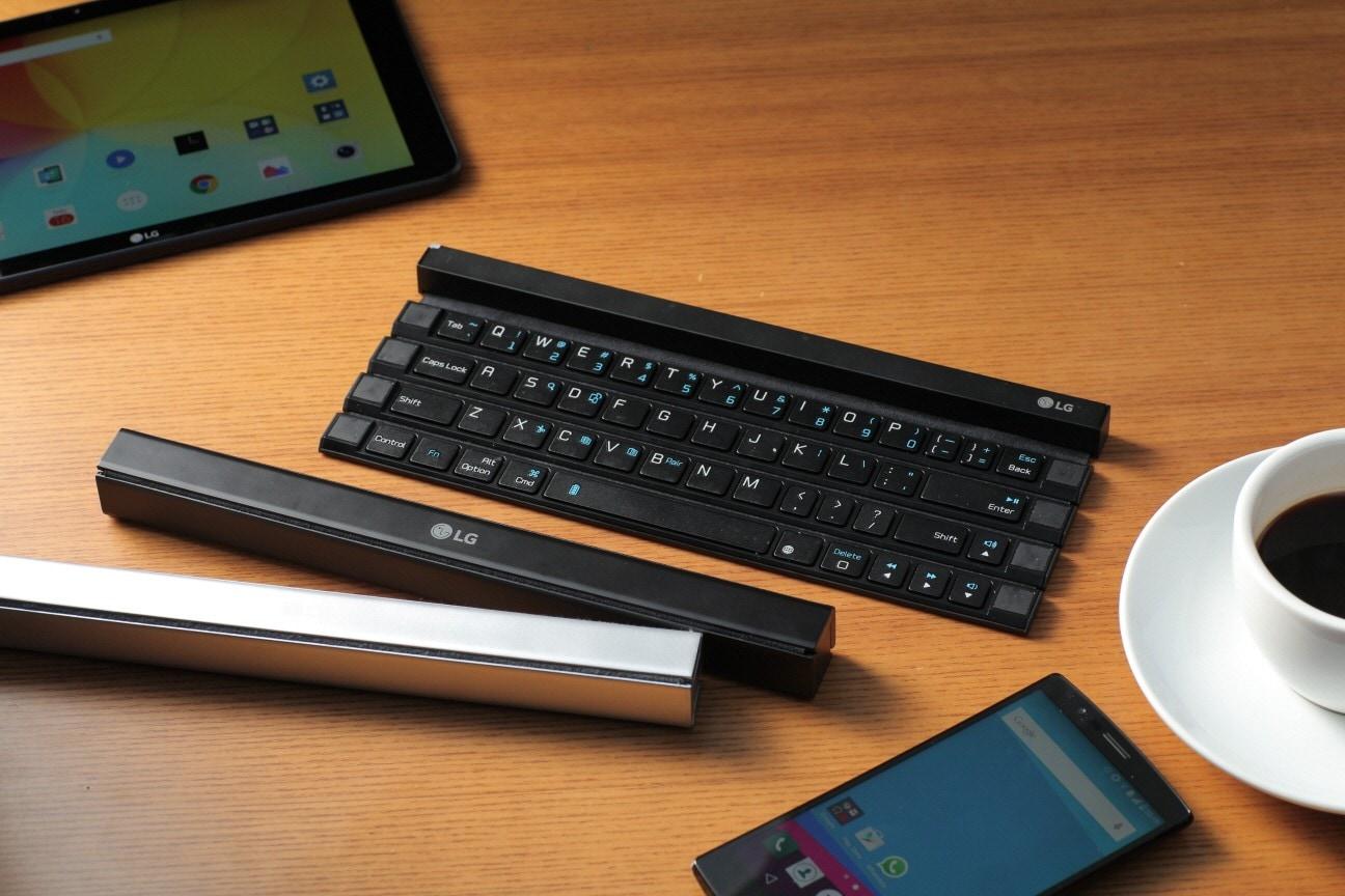 LG Rolly Keyboard render – 1