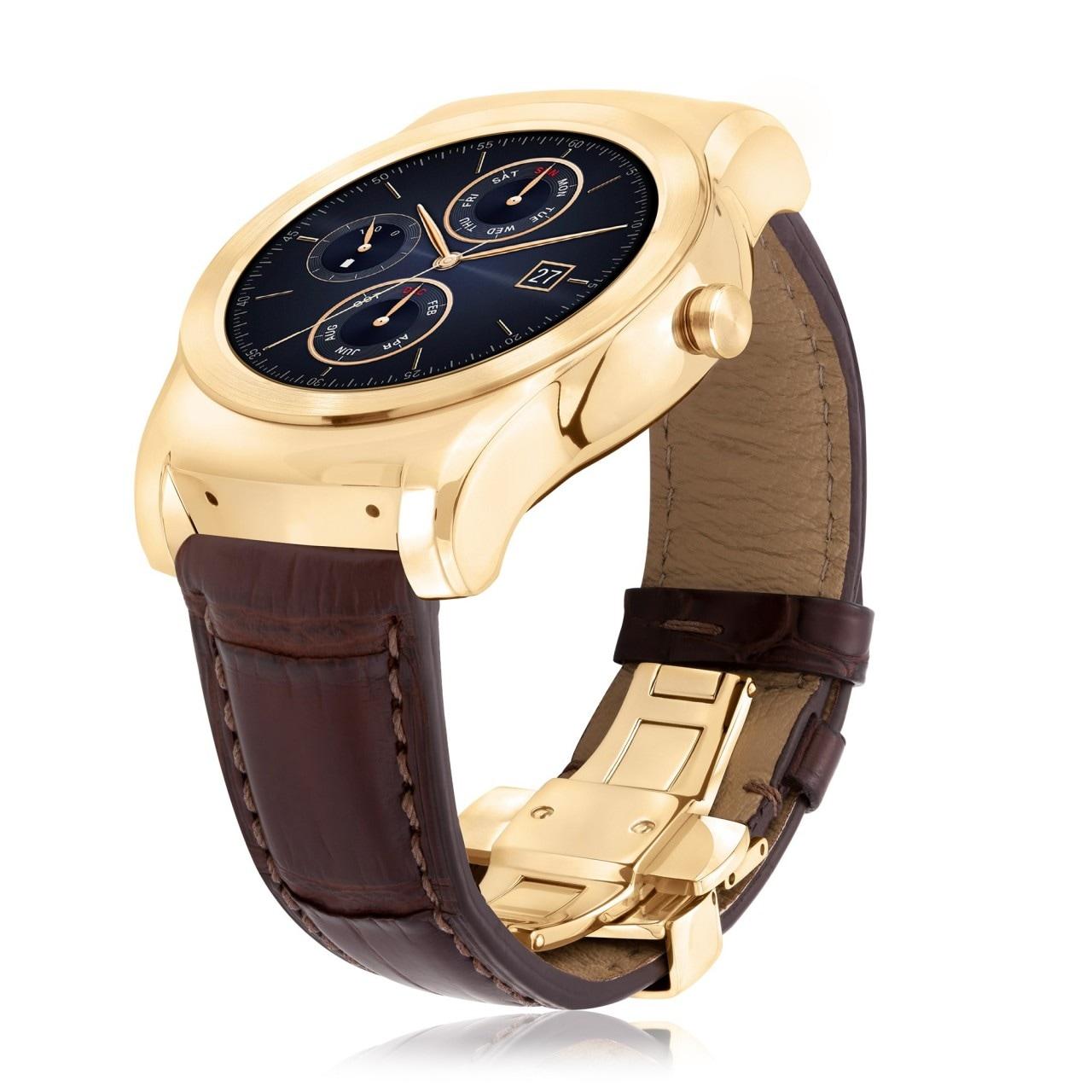 LG Watch Urbane si tinge d'oro 23k, in un'esclusiva edizione da soli 500 pezzi (foto)