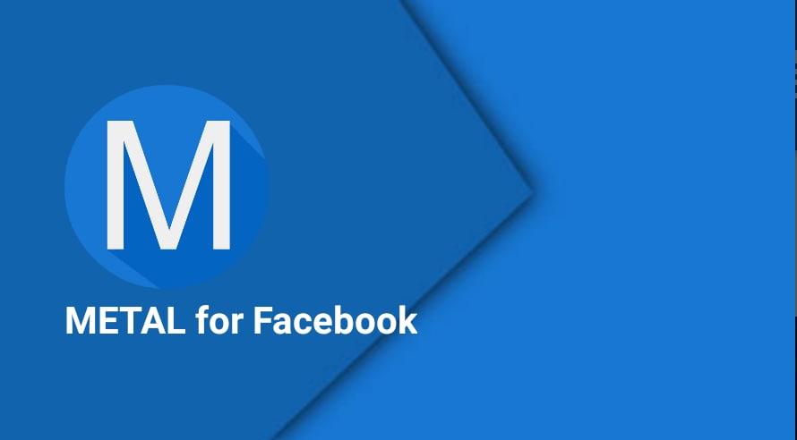 Facebook sposa completamente il Material Design, grazie a Metal for Facebook (foto)