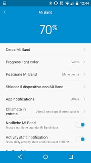 Mi Fit notifiche 2
