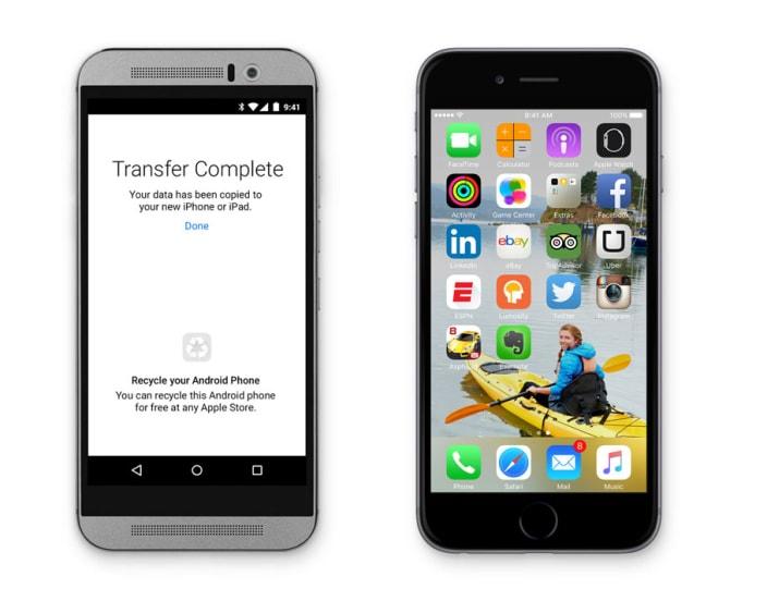 Gli utenti Android non gradiscono Move to iOS e le regalano una pioggia di insulti e 1 stella