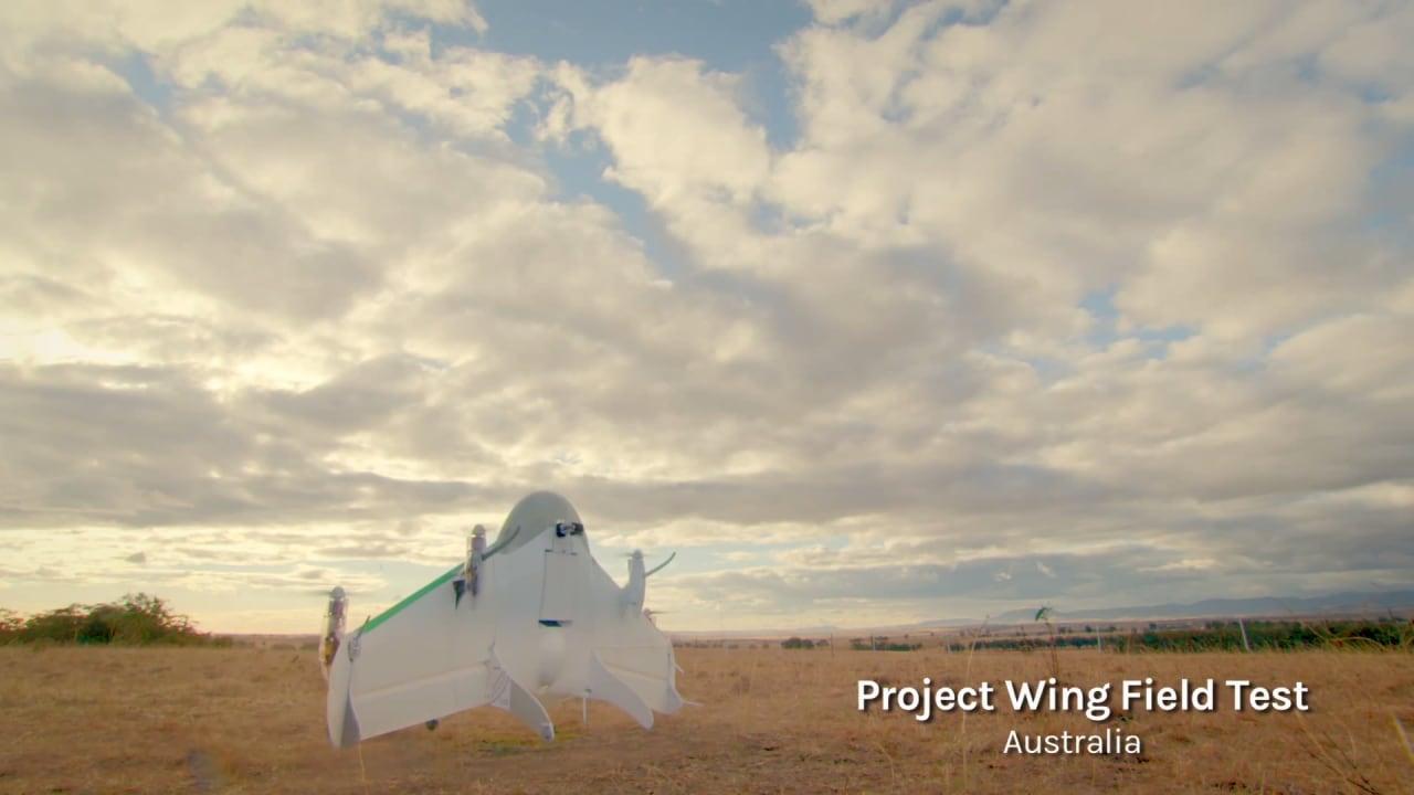 Google e NASA fianco a fianco per i test di Project Wing