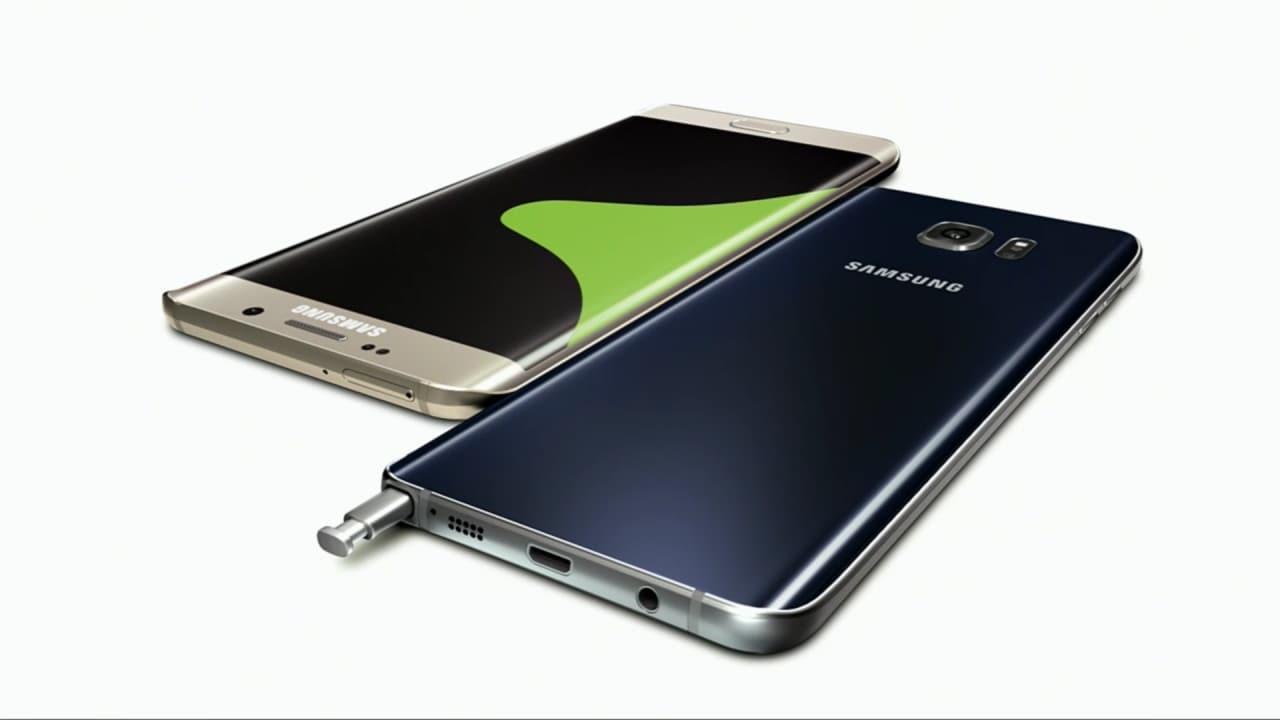 Samsung Galaxy Note 5 S6 edge Plus render finale