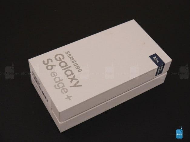 Samsung Galaxy S6 edge+ Plus - unboxing - 1