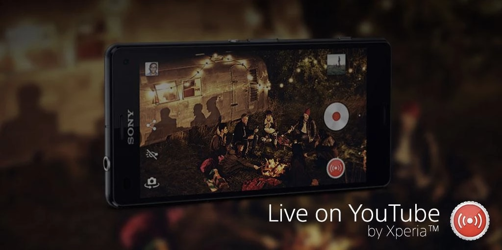 Sony Xperia Live on YouTube