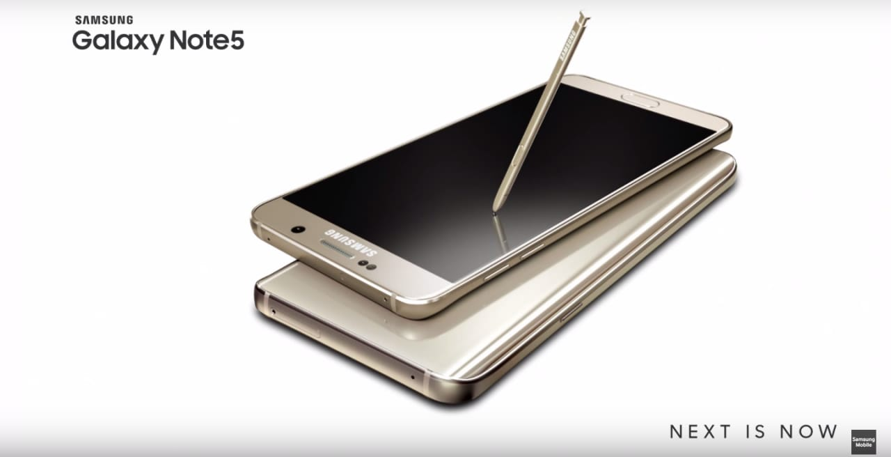 Galaxy Note 5 in alcuni video ufficiali su design, S Pen e intrattenimento