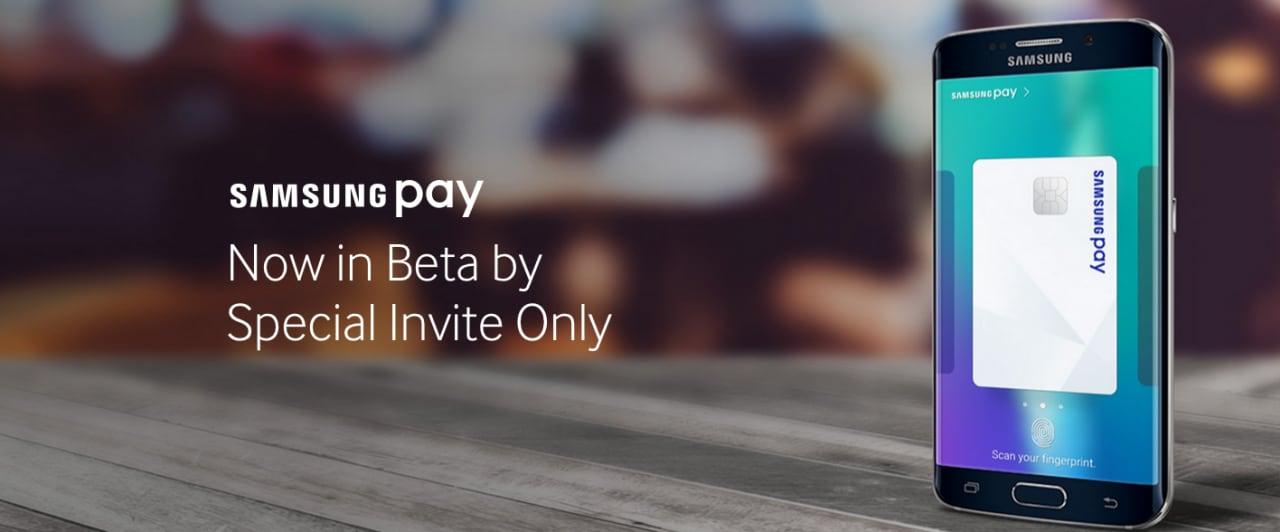 Samsung Pay beta