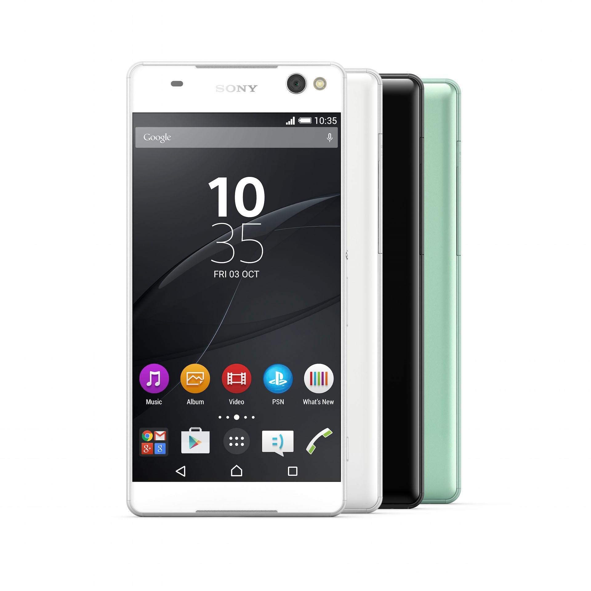 Sony Xperia C5 Ultra render ufficiale – 1