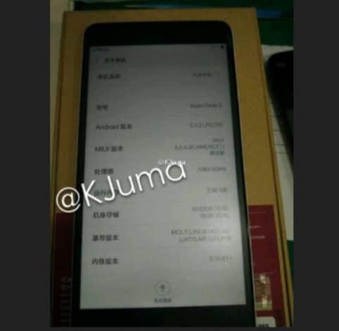 Xiaomi Redmi Note 2 leaked - 2