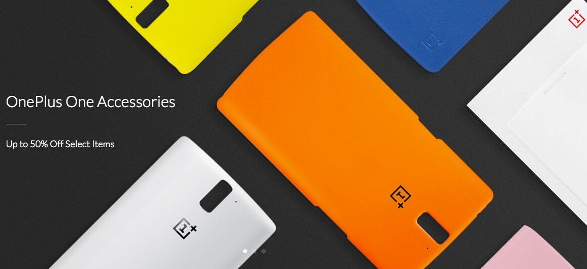 accessori oneplus one sconto