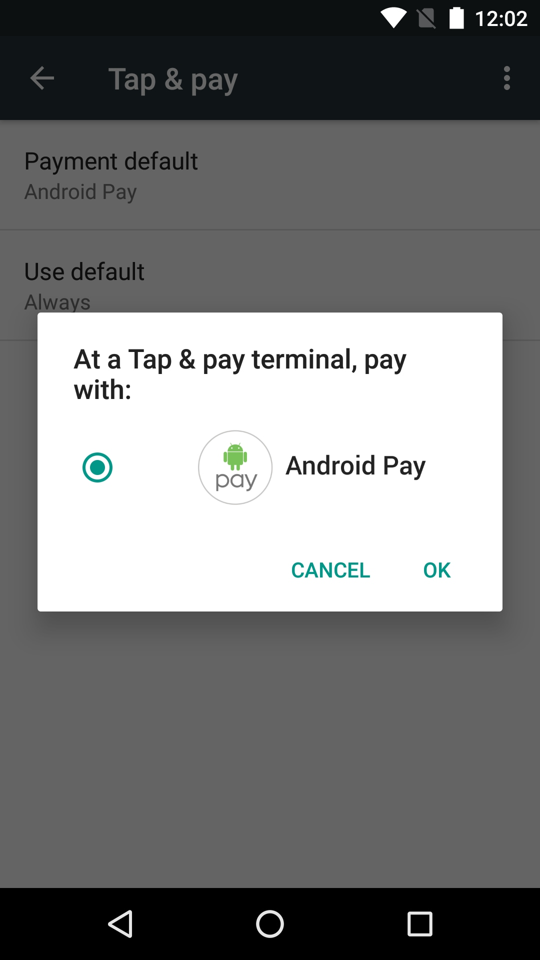 android pay 15