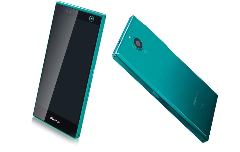 Fujitsu Arrows NX F-04G, lo smartphone con scanner dell'iride (foto)