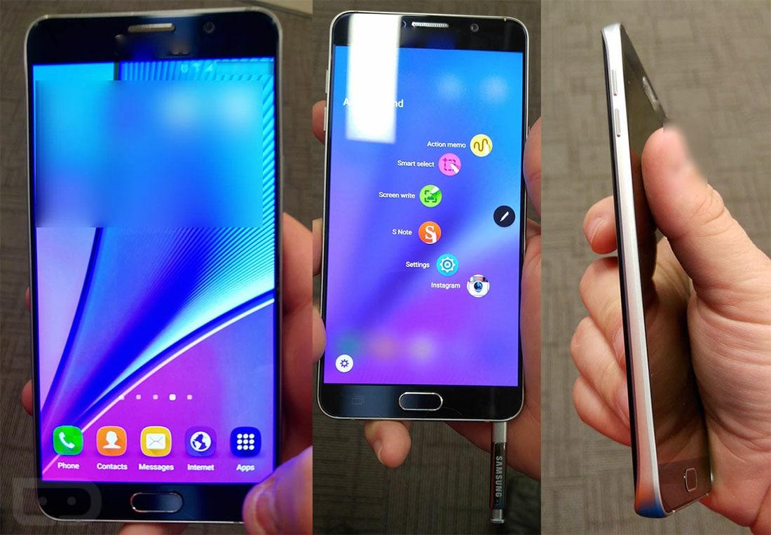 Samsung Galaxy Note 5 nelle migliori foto dal vivo che abbiate visto finora