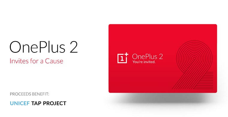 oneplus 2 inviti beneficenza