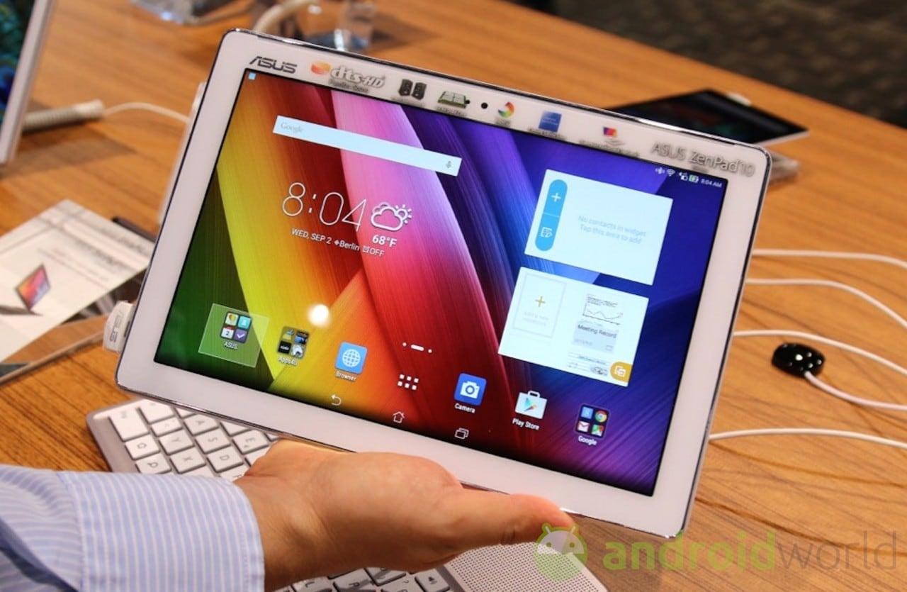 Due nuove varianti di ASUS ZenPad 10 acquistabili in Italia (foto)