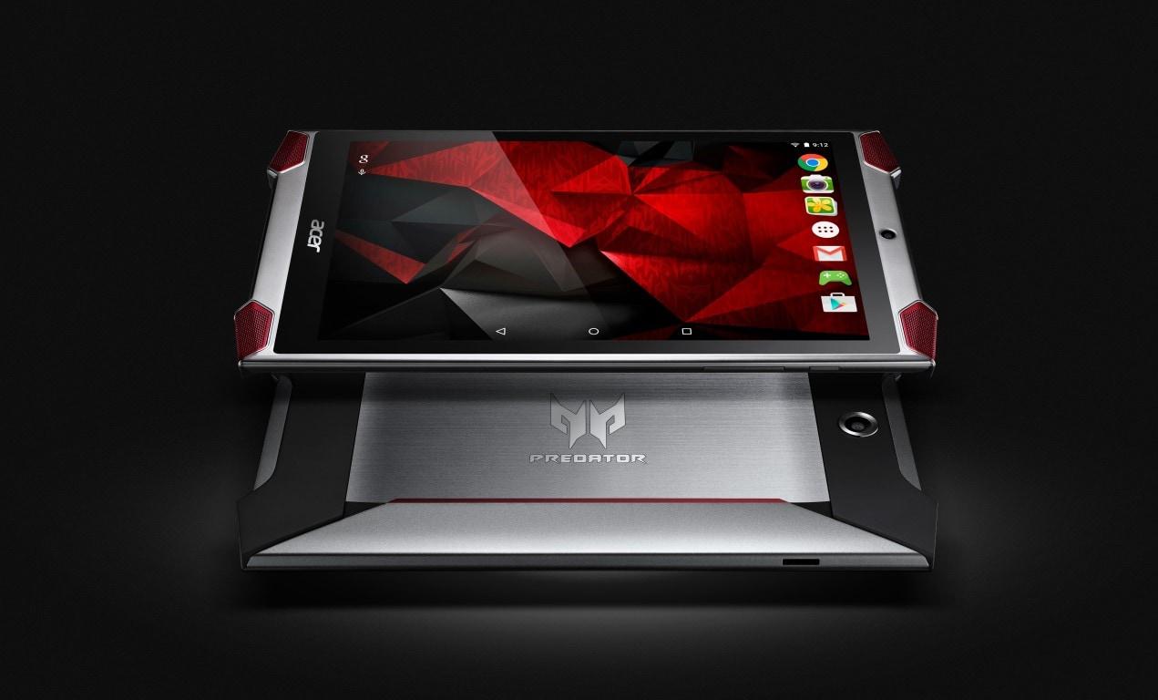 Acer Predator 8 GT-810 ufficiale: ecco il tablet gaming di Acer a partire da 349€