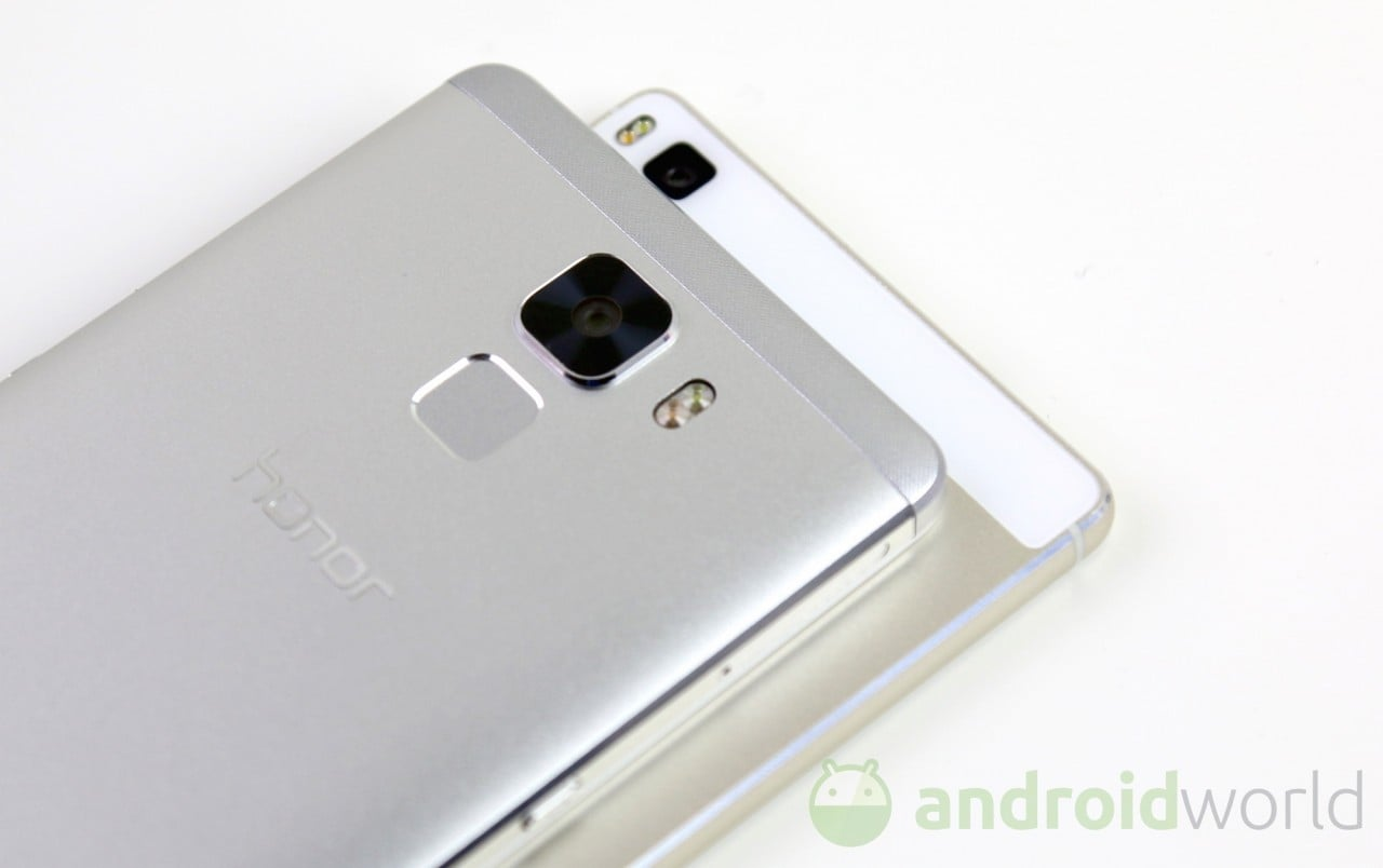 Confronto Honor 7 - Huawei P8 - 7