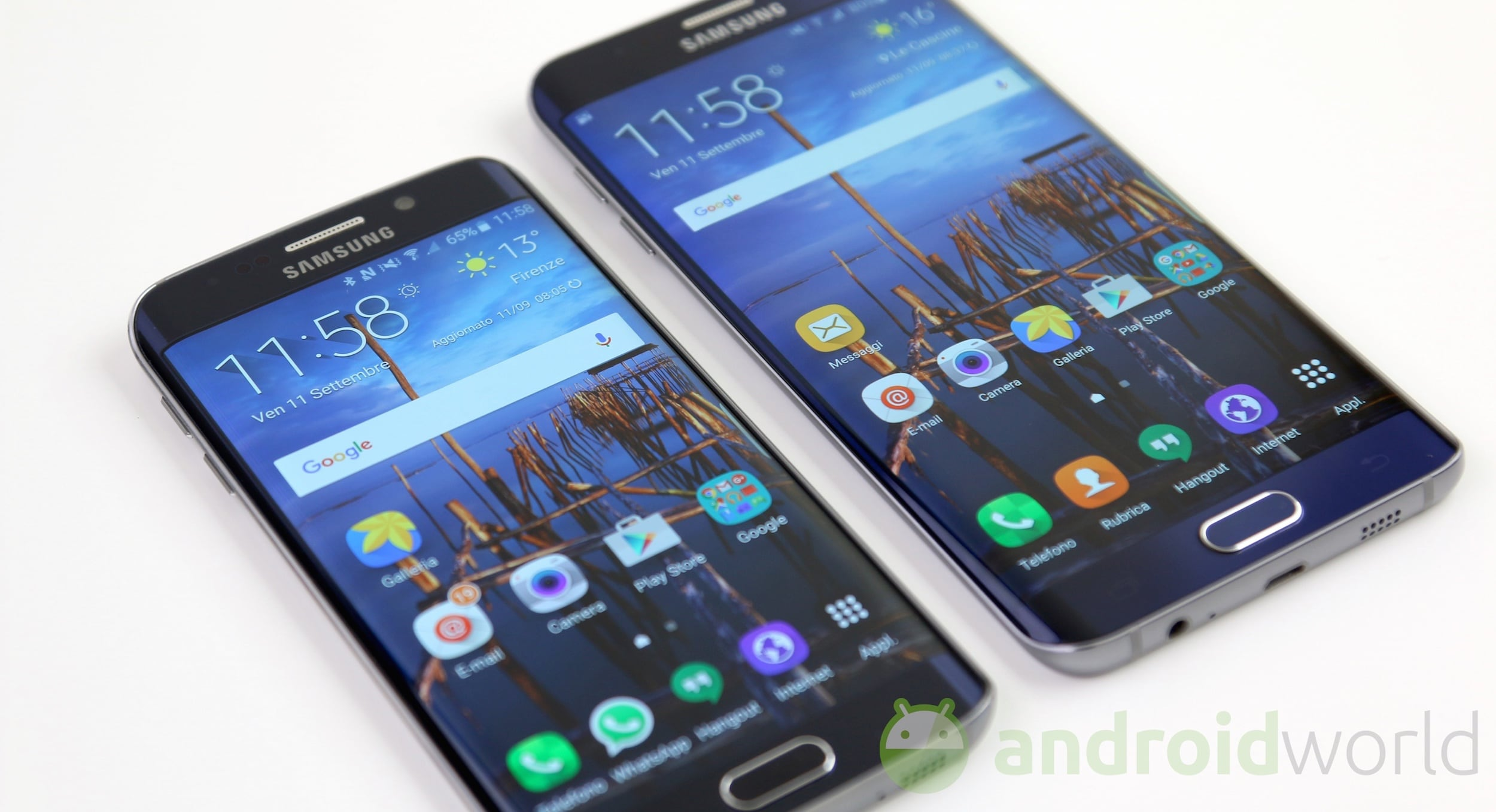 samsung galaxy s6 edge vs s6 edge il nostro confronto. Black Bedroom Furniture Sets. Home Design Ideas